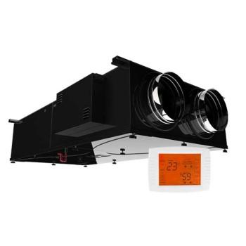 Rekuperator Selen II 500DC by-pass podwieszany