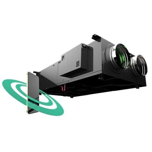 Rekuperator Selen II 500DC by-pass podwieszany Wi-Fi