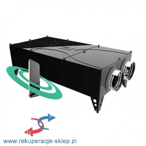 Rekuperator Selen II 800DC by-pass leżący Wi-Fi